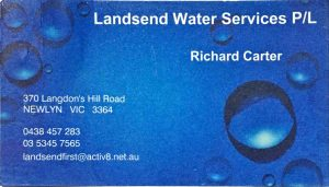 Richard Carter Business Card