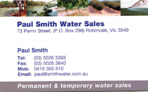 Paul Smith Business Card