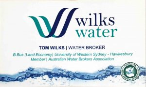 Tom Wilks Business Card